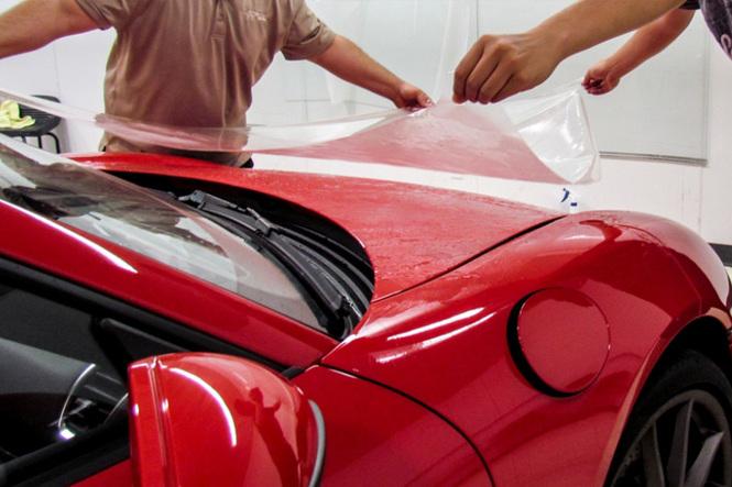 Пленка для бронирования кузова автомобиля